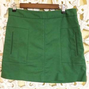 Gap Green Skirt with Pockets